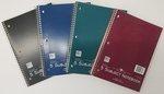 5 Subject Wirebound Notebook 8 X 10.5