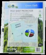 Sheet Protector 10pk Biodegradable