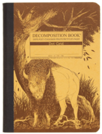 Decomp Book Bison-Dot Grid