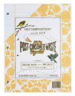 Decomposition Filler Paper