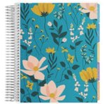 Coiled Notebook 8x11 Productivity Wildflowers